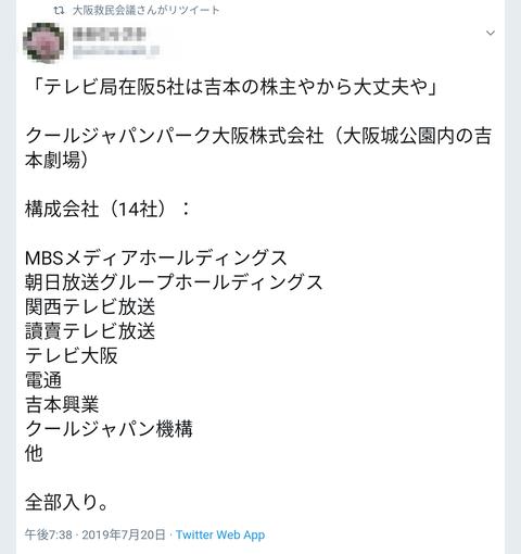 テレビドラマ局在阪5社は~