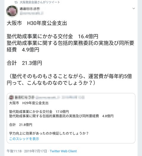 大阪市H30年度公金支出