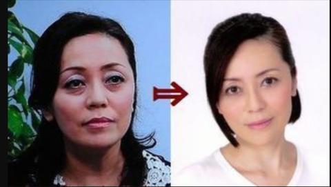 有本香の顔の変化