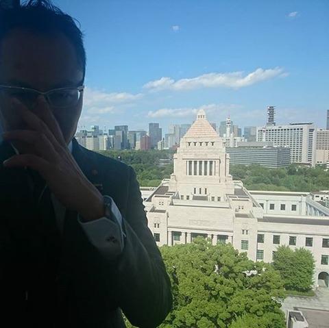 小坪、国会議事堂