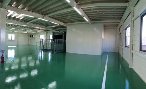 工場内部2F
