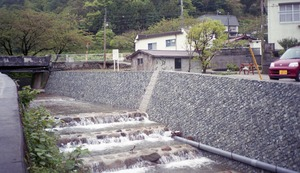 8406 1998,4 静岡 河川砂防工事・大田川 NR桂 1998,3 (3)