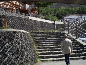 11  山梨 富士山5合目から1合目 NR溶岩 砂防堰堤 (52)