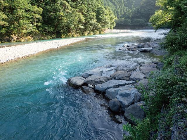 近自然の川づくり水制
