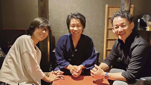 左から阿南、長野さん、三浦さん
