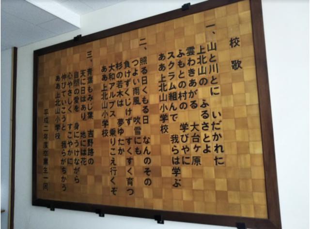 上北学校跡