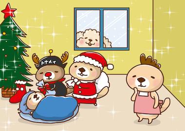2015クリスマスらびさん のコピー