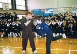 学校でボクシング教室