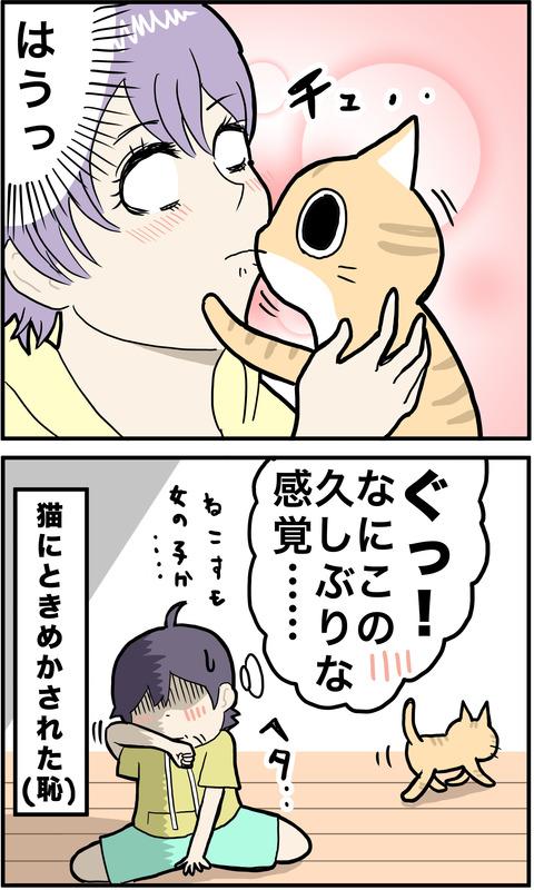 2コマ キス