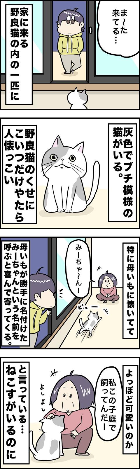 4コマ みーちゃん