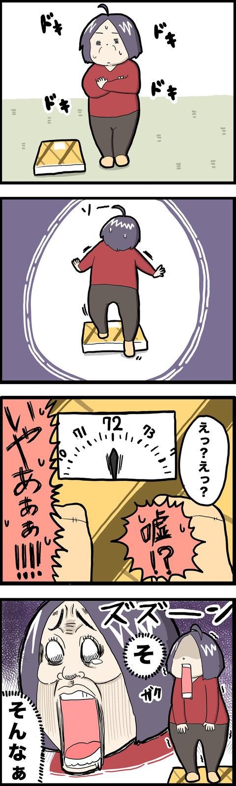 4コマ 体重