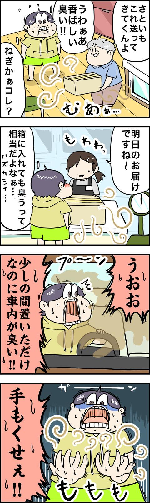 4コマ ネギ