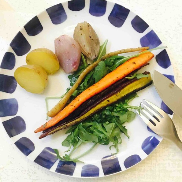 roast-carrot-for-beauty