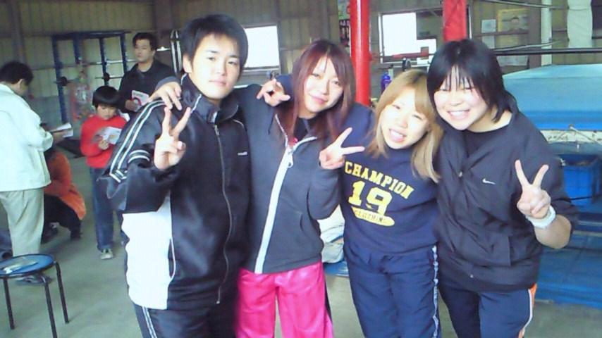 仙女プロレス若手4人