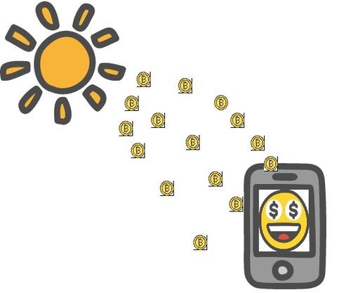 BitZeny ソーラーマイニング