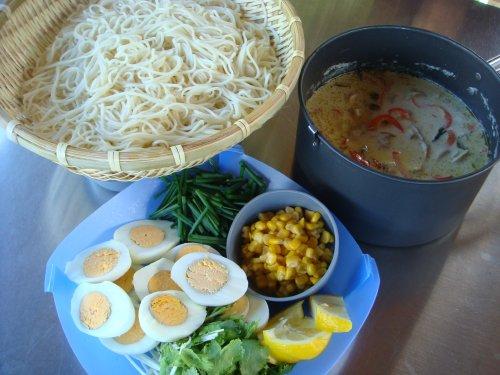 09103グリーンカレーつけ麺