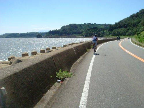 5海沿いの道