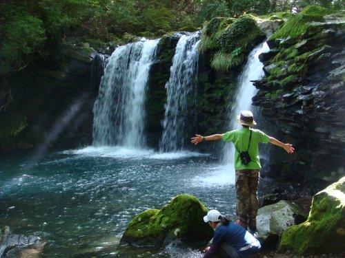 09115暮雨の滝