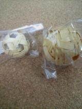 セパボールと竹ボール