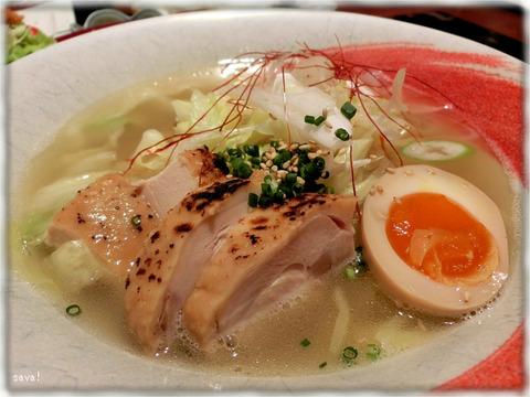 博多華味鳥鶏ガラ塩ラーメン