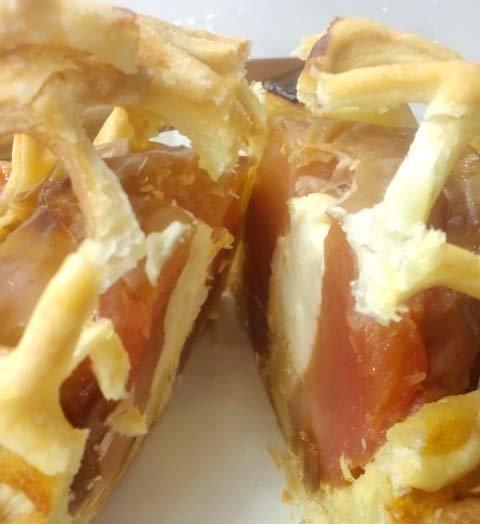 フランス食堂シェ・モアのアップルパイ_断面
