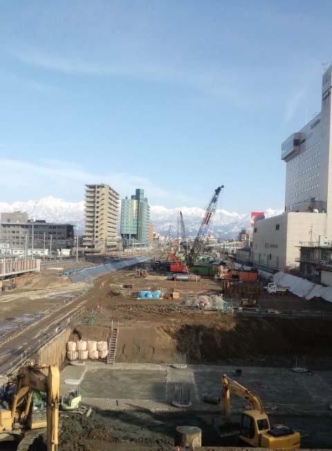 富山駅改修工事