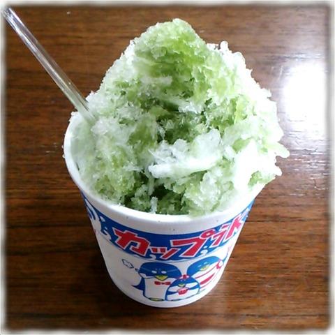 抹茶カキ氷