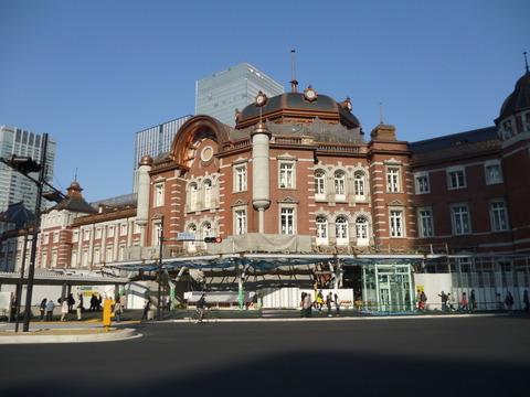 東京駅正面近く