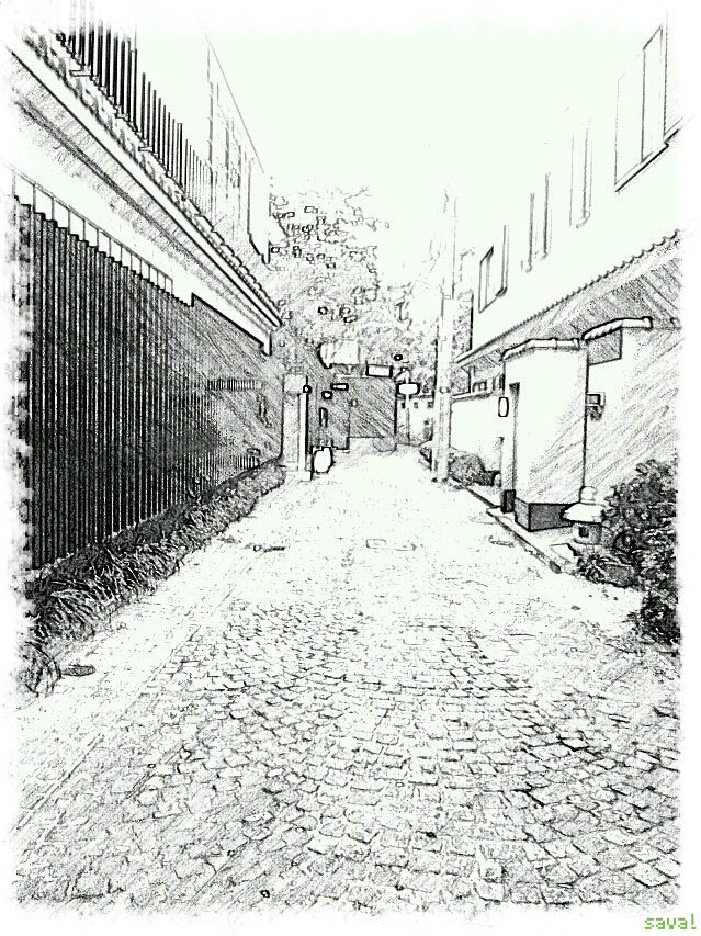 写真をまるで鉛筆で書いた絵のようにすることができるアプリは楽しいの