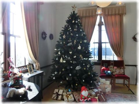旧柳下邸_クリスマスツリー