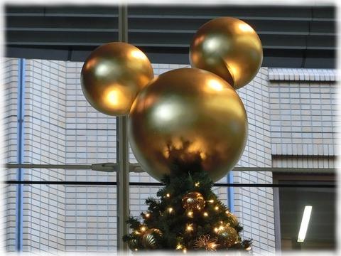 オアゾのクリスマスツリー