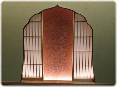 火灯窓付蛍壁