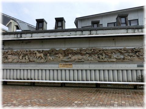 井波彫刻欄間