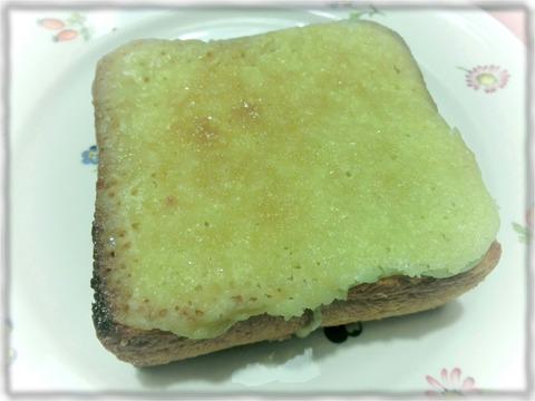 メロンパン風トーストスプレッド