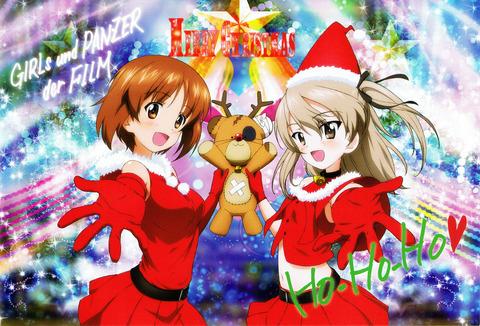 ガルパン_クリスマスカード