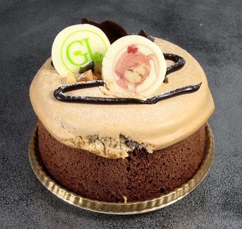 GJ部 チョコシフォンケーキ