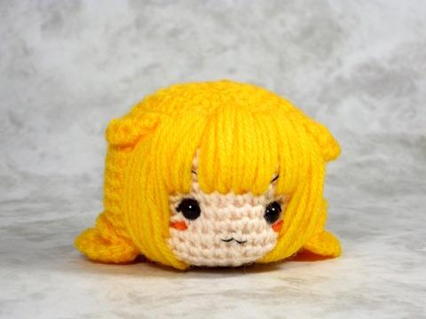 ぶちょー 編みぐるみ
