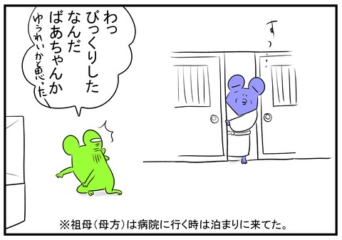 H30.8.9 ばあちゃんの怖い物 2