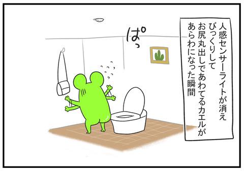 H30.10.22 公共のトイレで電気が消えた 7