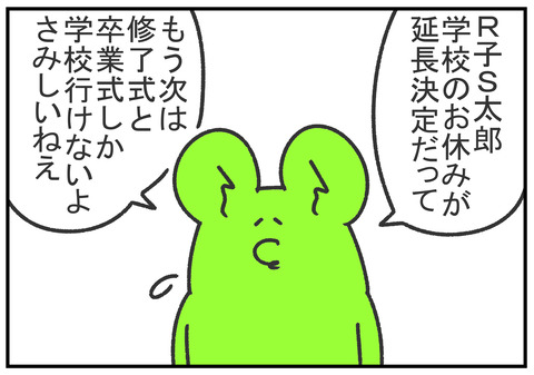 R2.3.14 休校中の子供の様子 2