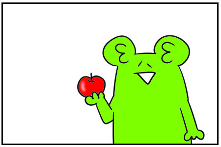 パクりんご  4