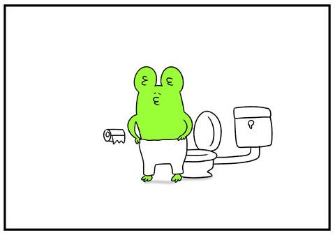 R1.9.21 秋を実感する朝のトイレ 2