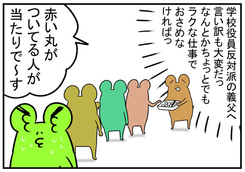 H31.4.13 役員決めとくじ引き 5