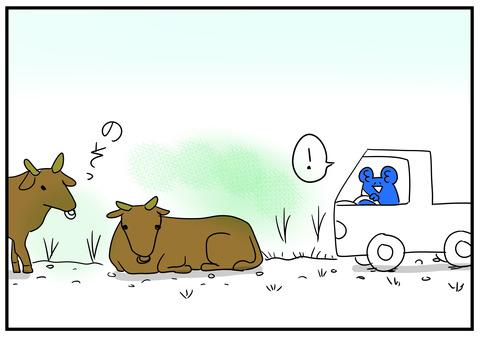 18 牛が道を塞ぐ 6