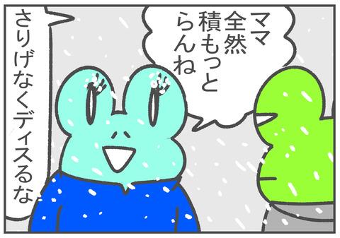 R2.12.30 雪が降った! 4