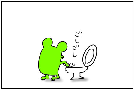 4 トイレ掃除 1