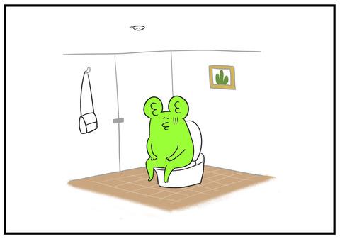 H30.10.22 公共のトイレで電気が消えた 4