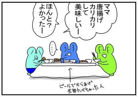 R1.12.21 唐揚げと納豆 5