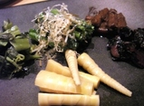 桜山菜と漬物