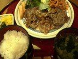ゆき生姜焼き